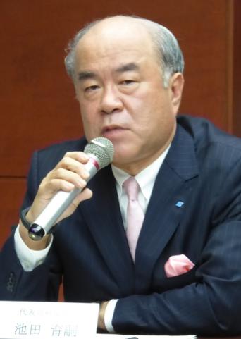 Sumitomo Rubber CEO Ikuji Ikeda (archive photo)