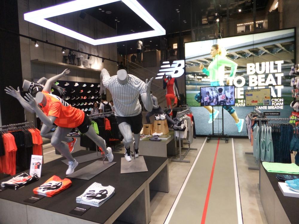 new balance running store