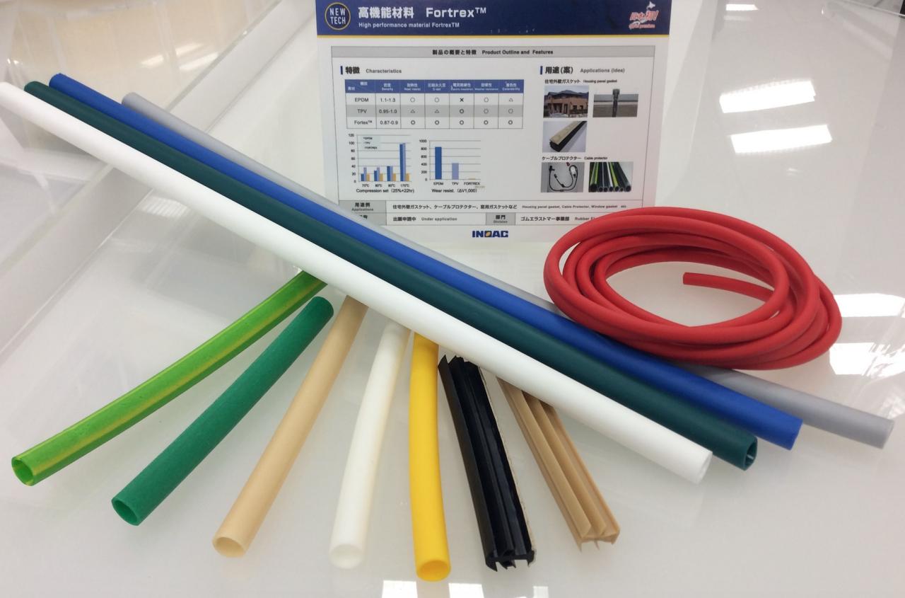 Inoac va déployer un élastomère haute performance développé par la société américaine Cooper Standard - Japan Rubber Weekly